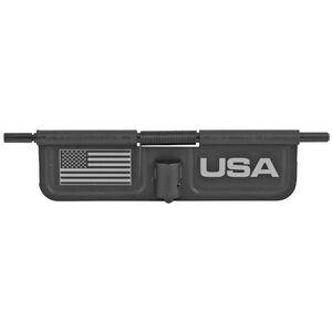 Bastion Gear AR-15 Custom Laser Engraved Ejection Port Door Dust Cover USA Flag Matte Black