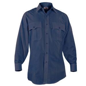 "Elbeco Paragon Plus Men's Long Sleeve Shirt Neck 17.5 Sleeve 35"" Polyester Cotton Midnight Navy"