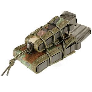 HSG Double Decker TACO Rifle/Pistol Pouch Woodland