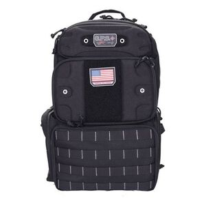 """G. Outdoors G.P.S. Tactical Range Backpack """"Tall"""" Black"""