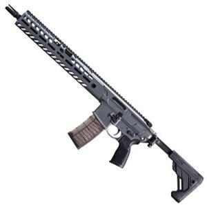 "SIG Sauer MCX Virtus Patrol Semi Auto Rifle 5.56 NATO 16"" Barrel 30 Rounds Free Float M-LOK Compatible Hand Guard Side Folding/Collapsible Stock Concrete Gray Finish"