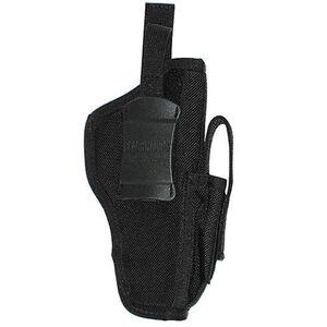 BLACKHAWK! Multi-Use Belt Holster With Magazine Pouch Ambidextrous Nylon Black 40AM03BK