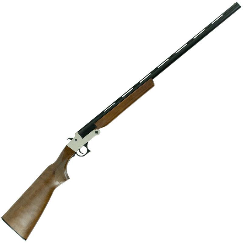 "Hatfield SGL Single Shot 20 Gauge Break Action Shotgun 28"" Vent Rib Barrel 3"" Chamber 1 Round Walnut Stock Silver/Black Finish"