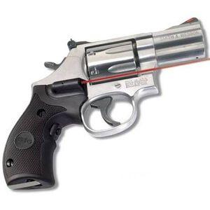 Crimson Trace Lasergrip S&W K, L Frame Round Butt Revolver Rubber Black LG-306