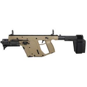 "Kriss USA Kriss Vector Gen II SDP-SB Enhanced .45 ACP Semi Auto Pistol 6.5"" Barrel 13 Rounds Pistol Stabilizing Brace Flat Dark Earth Finish"