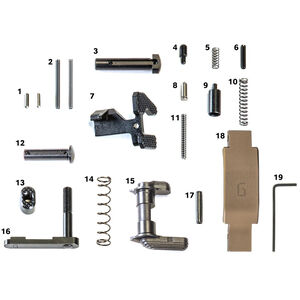 Geissele Automatics Super Duty AR-15 Lower Parts Kit  DDC  05-428S