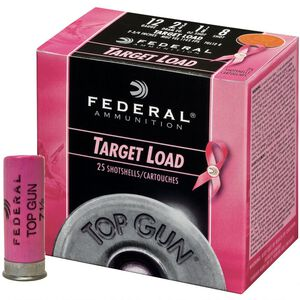 "Federal 12 Gauge Ammunition 25 Rounds 2.75"" #8 Lead 1.125 oz."