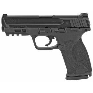 "S&W M&P9 M2.0 Semi Auto Handgun 9mm Luger 4.25"" Barrel 17 Rounds Ambidextrous Thumb Safety Polymer Frame Black Finish"