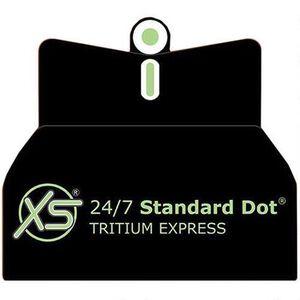 XS Sight Systems DXT Standard Dot Replacement Sights Beretta 92/96 Green Tritium Front/ Green Tritium Rear Matte Black