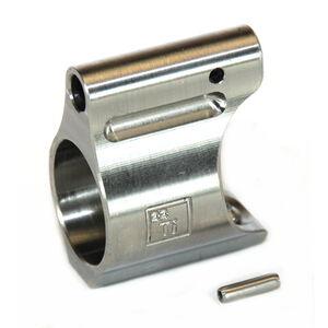 "Battle Arms Development Lightweight Gas Block Titanium .625"" Dia Raw Titanium"