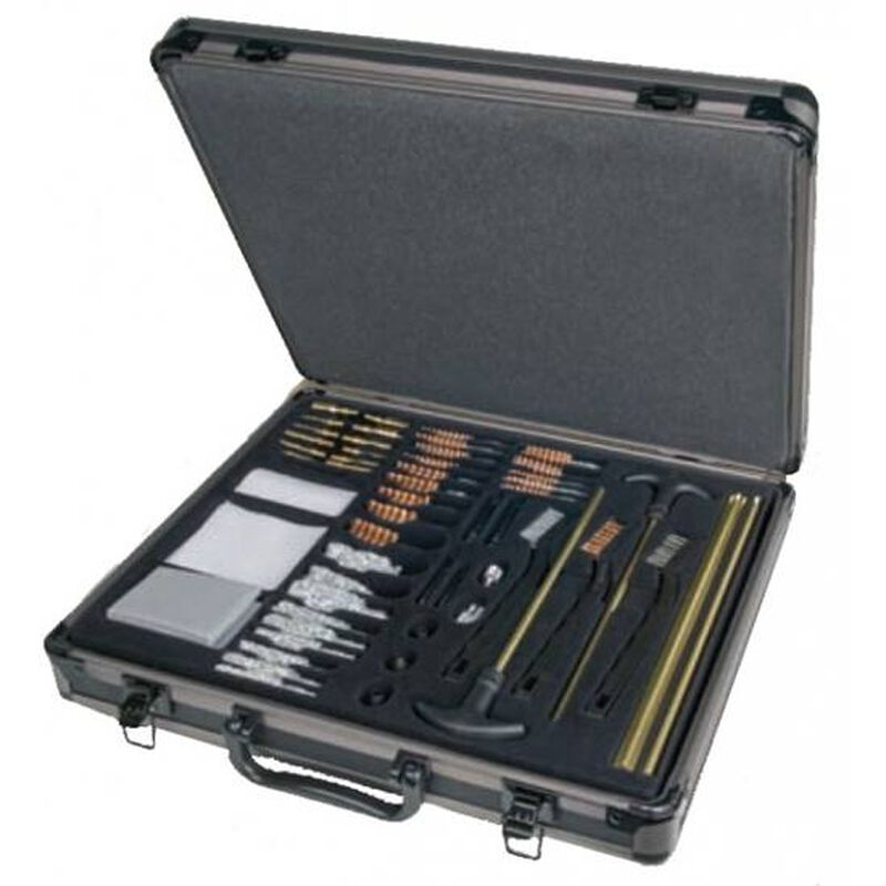 Outers Cleaning Kit, Universal, 62 Piece Aluminum Case