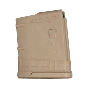 JE Machine LR-308 Magazine .308 Win/7.62 NATO 10 Round Tan
