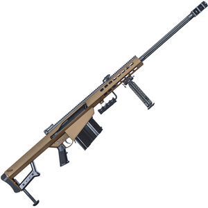 "Barrett M82A1 .50 BMG Semi-Auto Rifle 29"" Barrel 10 Rounds Steel Receiver Coyote Cerakote Finish"