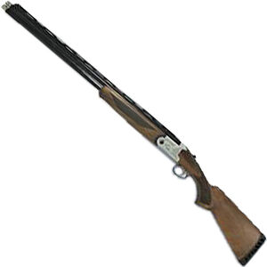 "ATI Crusader Sport .410 Bore O/U Break Action Shotgun 26"" Vent Rib Barrels 3"" Chambers 2 Rounds Extended Chokes Walnut Stock Silver/Blued Finish"