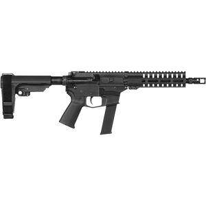 "CMMG Banshee 200 MkGs .40 S&W AR-15 Semi Auto Pistol 8"" Barrel 22 Round GLOCK Style Magazine RML7 M-LOK Handguard CMMG RipBrace Black Finish"