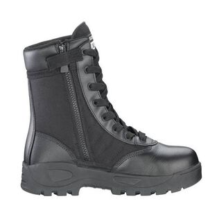 "Original S.W.A.T. Classic 9"" SZ Safety Plus Men's Boot Size 12 Regular Composite Safety Toe ASTM Tested Non-Marking Sole Leather/Nylon Black 116001-12"