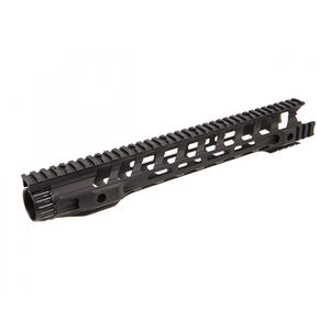 "Fortis Manufacturing 14.4"" Night Rail AR-15 Free Float M-LOK Rail System Black NTR-14-ML"
