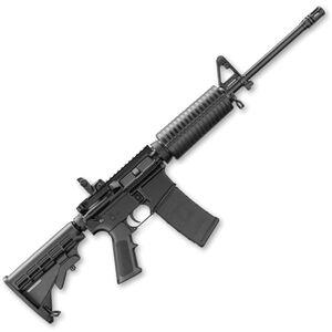"DPMS 5.56 LCAR AR-15 5.56 NATO Semi Automatic Rifle 16"" Lightweight FNC Barrel 30 Rounds Fixed Front Sight M4 Stock Matte Black Finish"