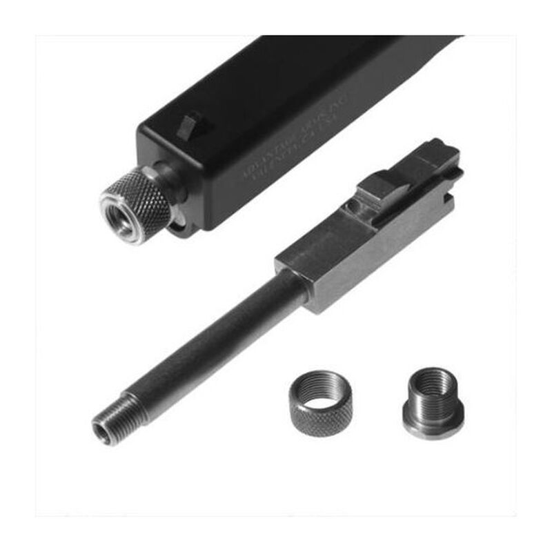 Advantage Arms .22 LR Caliber Conversion Kit Threaded Replacement Barrel GLOCK 19/23 Gen 3 Models Stainless Steel Natural Finish