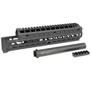 Midwest Industries Gen 2 AK-47/AK-74 Extended Hand Guard KeyMod Compatible Rail Top Cover 6061 Aluminum Matte Black