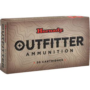 Hornady Outfitter .375 Ruger Ammunition 20 Rounds GMX 250 Grains