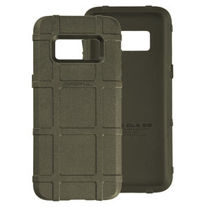Magpul Field Case Samsung Galaxy S8 Flexible Thermoplastic Elastomer With PMAG Style Ribs For Grip Olive Drab Green