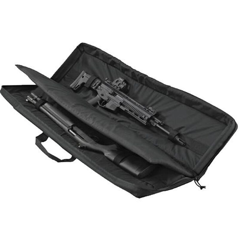 "US PeaceKeeper 3-Gun Soft Case 48""x12.75""x3.25"" Nylon Black P30049"
