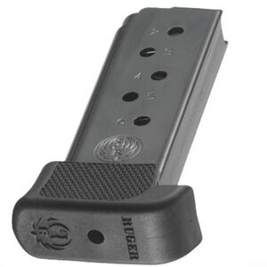 Ruger LCP380 .380 ACP Magazine 7 Rounds Extended Steel Black 90405