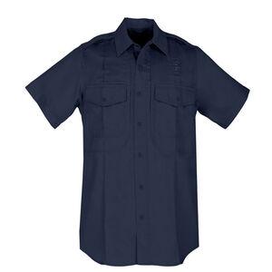 5.11 Tactical Taclite PDU Short Sleeve Class B Ripstop Shirt Extra Large Regular Midnight Navy 71168