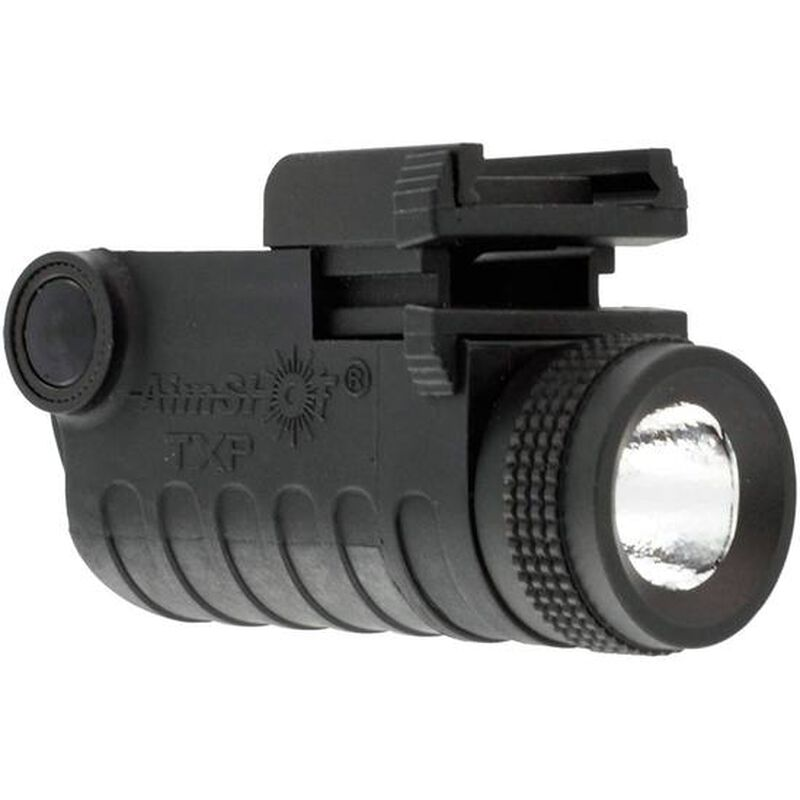 AimSHOT Rechargeable LED Pistol Light 130 Lumens Polymer Black TXP