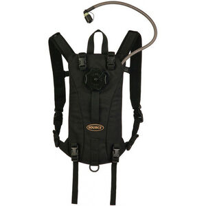 Source Tactical 2 Liter Hydration Pack, Nylon, Black