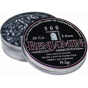 Sheridan Cylindrical Airgun Pellets .20 Caliber 14.3 Grains 500 Per Pack