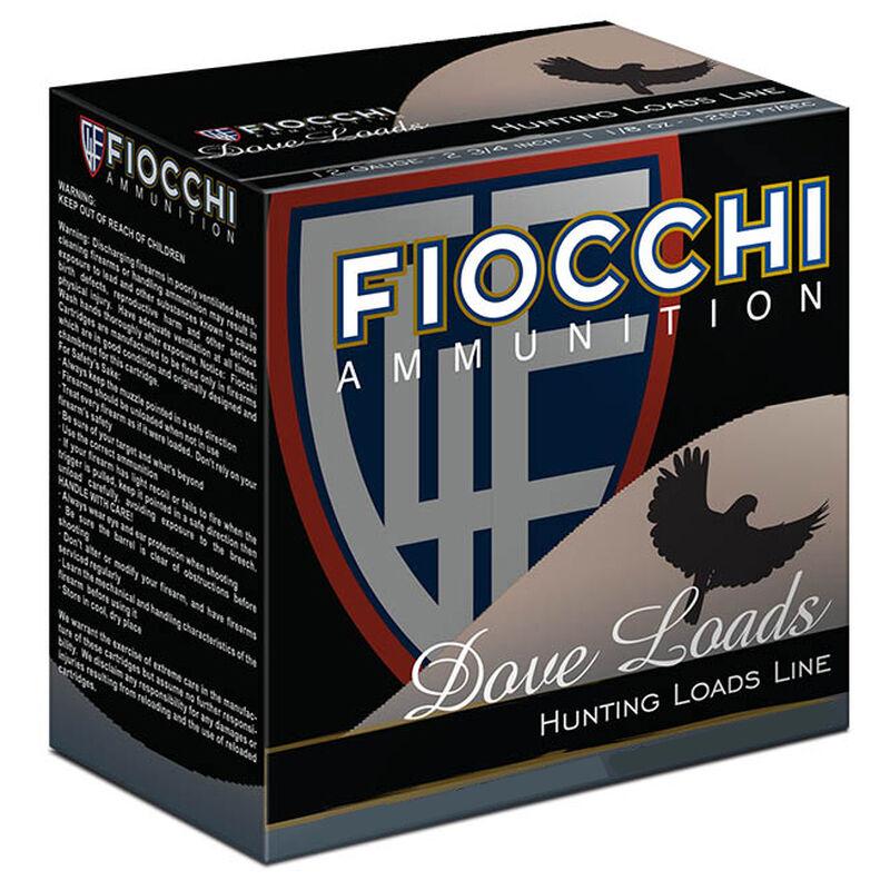 """Fiocchi Dove Load 20 Gauge Ammunition 2-3/4"""" #8 Lead Shot 7/8oz 1210fps"""