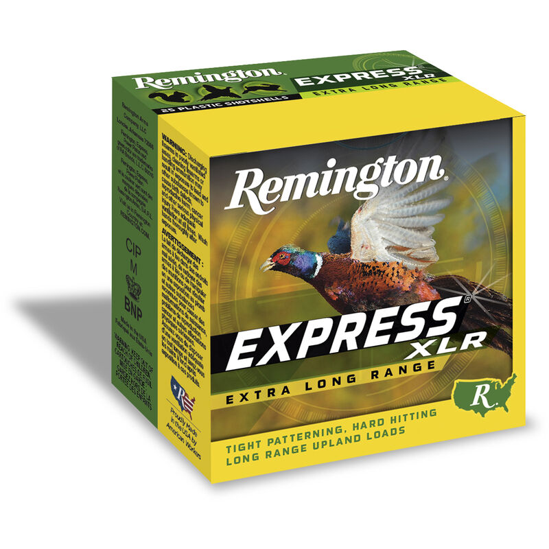 "Remington Express XLR 20 Gauge Ammunition 250 Rounds 2.75"" #7.5 Lead 7/8 Ounce NEHV2075"