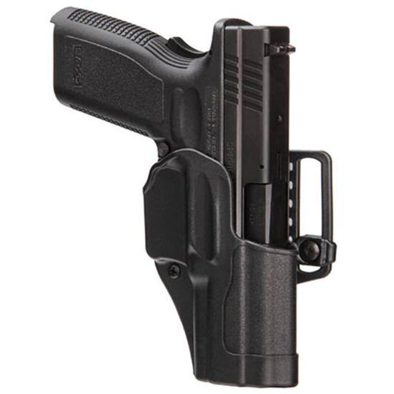 BLACKHAWK! Sportster Standard Ruger SR9, SR40 Belt/Paddle Holster Right Hand Composite Body Matte Black 415641BK-R