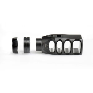 Ultradyne AR .308 PEGASUS Muzzle Break .308/7.62 Caliber 5/8x24 Threads Steel Black