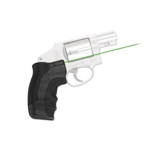 Crimson Trace Lasergrip Green Smith and Wesson J-Frame Round Butt