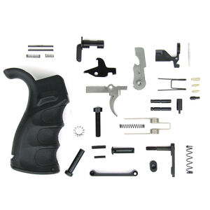 TacFire AR-15 USA Made Lower Parts Kit With Enhanced Pistol Grip Black LPK02USA-B