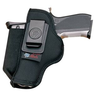 DeSantis Pro Stealth GLOCK G43 IWB Holster Ambidextrous with Spare Mag Carrier Nylon Black