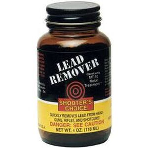 Shooter's Choice Lead Remover 4 oz. Glass Bottle