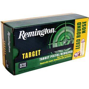 Remington Target .38 SPL 158 Grain LRN 50 Round Box