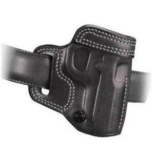Galco Avenger GLOCK 26, 27 Belt Holster Leather Right Hand Black AV286B