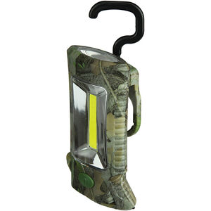 River's Edge Products Camo Multi-Function Worklight Light 100 Lumens LED Bulb Polymer Housing CB Outdoor Fall Camo 25 Piece Counter Top Display