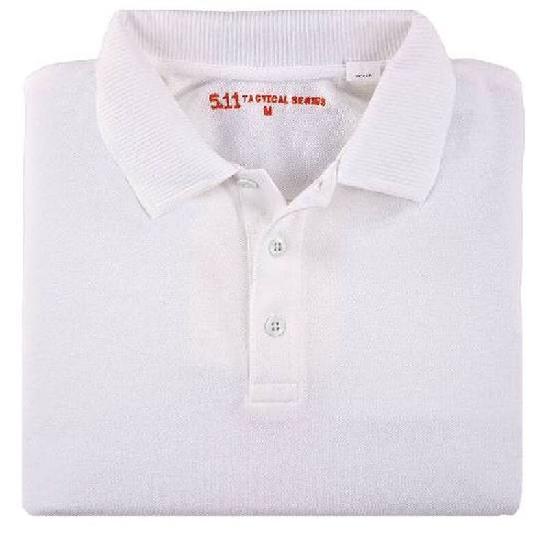 5.11 Tactical Women's Professional Polo Cotton Large White 61166