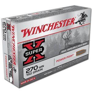 Winchester Super X .270 Win Ammunition 20 Rounds, PP, 150 Grains