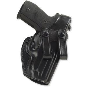 Galco SC2 GLOCK 26, 27, 33 Inside Waistband Holster Thumb Break Right Hand Leather Black SC2-286B