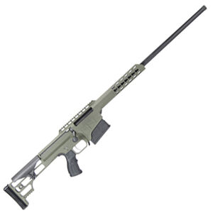 "Barrett M98B Fieldcraft Bolt Action Rifle 300 Win Mag 24"" Barrel 10 Rounds Aluminum Frame OD Green/Black"