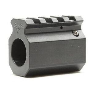 "DoubleStar AR-15 Adjustable Picatinny Rail Gas Block .750"" Diameter Aluminum Black DSC765"