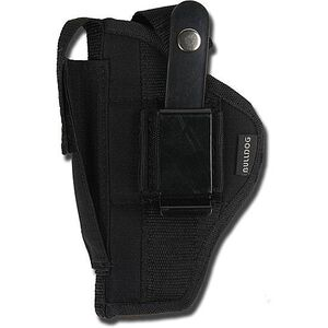 "Bulldog Cases Ruger MK I & II Belt Holster 5"" to 6-7/8"" Barrels Size 21 Black Nylon"