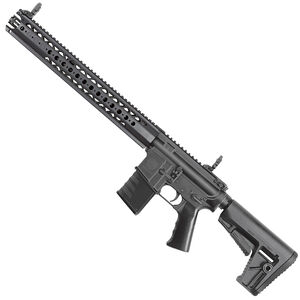 "Kriss USA Defiance DMK22C LVOA AR-15 Style Semi Auto Rifle .22 Long Rifle 16.5"" Barrel 15 Round Capacity LVOA-C Free Float Modular Hand Guard Pistol Grip/Collapsible Stock Black Finish"